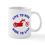 Live to Ride 3 Mug