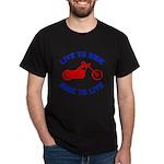 Live to Ride 3 Dark T-Shirt