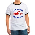 Live to Ride 3 Ringer T