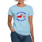 Live to Ride 3 Women's Light T-Shirt
