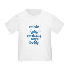 1st Birthday Boy's Daddy! Toddler T-Shirt