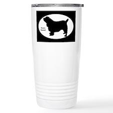Sussex Spaniel Silhouette Travel Mug