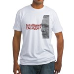 Intelligent (sic) Design? Fitted T-Shirt