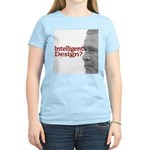 Intelligent (sic) Design? Women's Pink T-Shirt