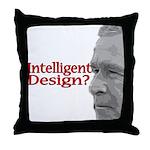 Intelligent (sic) Design? Throw Pillow