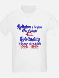 Religion VS spirituality T-Shirt