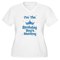 1st Birthday Boy's Mommy! T-Shirt