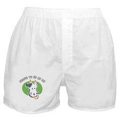 Proud To Be An Ox Boxer Shorts