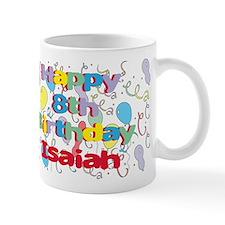 Isaiah's 8th Birthday Mug