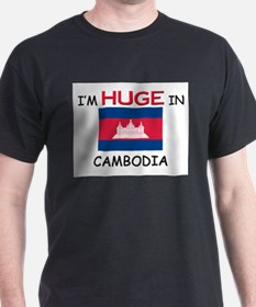 I'd HUGE In CAMBODIA T-Shirt