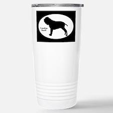Neapolitan Mastiff Silhouette Travel Mug