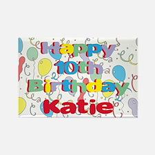 Katie's 10th Birthday Rectangle Magnet
