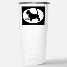 PBGV Silhouette Travel Mug