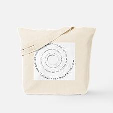 Knittyspin is making you sheepy! Tote Bag