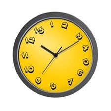 13 Hour Clock Wall Clock