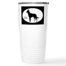Malinois Silhouette Travel Mug