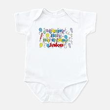 Jake's 8th Birthday Infant Bodysuit