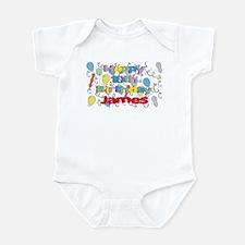 James's 10th Birthday Infant Bodysuit