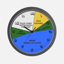 ADHD Schedule Wall Clock