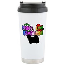 Hippie Havanese Travel Mug
