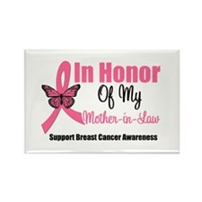 Breast Cancer Honor Rectangle Magnet