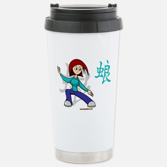 Fu-Q Val Stainless Steel Travel Mug