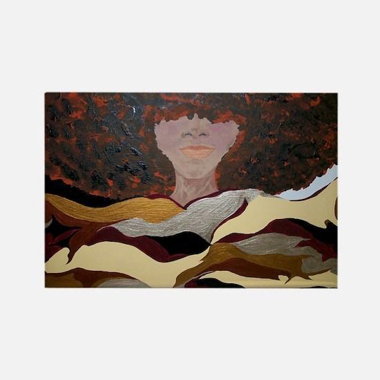 Soul Sista by Kenya Verrett Rectangle Magnet