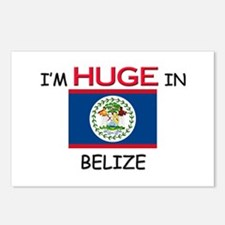 I'd HUGE In BELIZE Postcards (Package of 8)