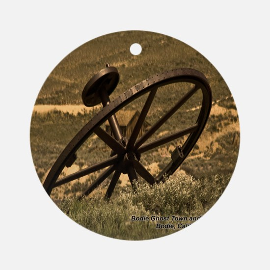 Bodie Ghost Town Ornament (Round)