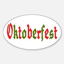 Oktoberfest Oval Decal