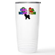 Hippie Bichon Frise Travel Mug