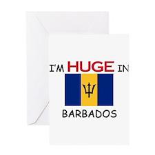 I'd HUGE In BARBADOS Greeting Card