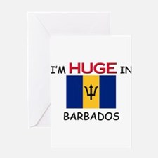 I'd HUGE In BARBADOS Greeting Card
