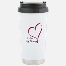 I Love My Mommy Travel Mug