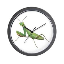 Praying Mantis Wall Clock