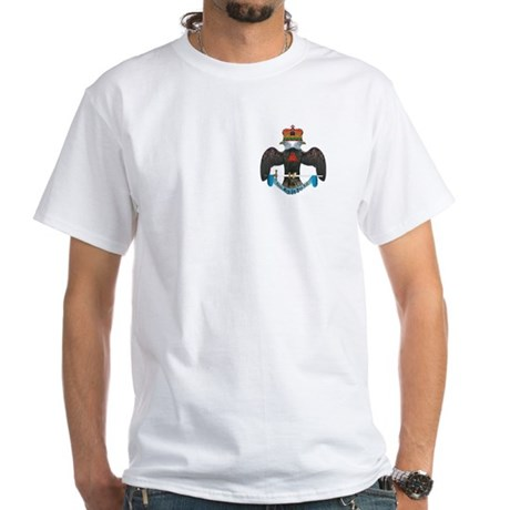 32nd Degree Master Mason White T-Shirt