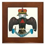 32nd Degree Master Mason Framed Tile