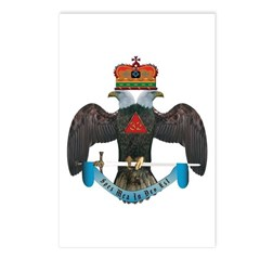 32nd Degree Master Mason Postcards (Package of 8)