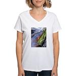 Cobra Curves Women's V-Neck T-Shirt