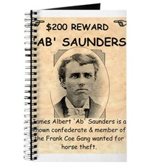 b Saunders Wante Journal