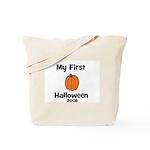 My First Halloween 2008 Pumpk Tote Bag