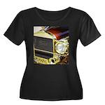 1926 Ford Women's Plus Size Scoop Neck Dark T-Shir