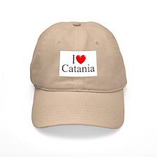 """""""I Love (Heart) Catania"""" Baseball Cap"""