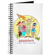 ADVENTURE-BOY SCOUTS II Journal