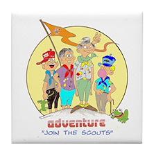 ADVENTURE-BOY SCOUTS II Tile Coaster