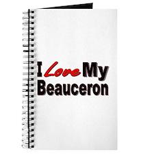 I Love My Beauceron Journal