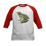Leopard Frog (Front) Kids Baseball Jersey