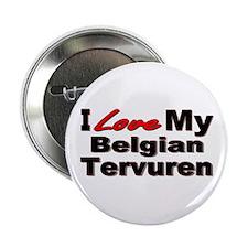 "Belgian Tervuren 2.25"" Button"