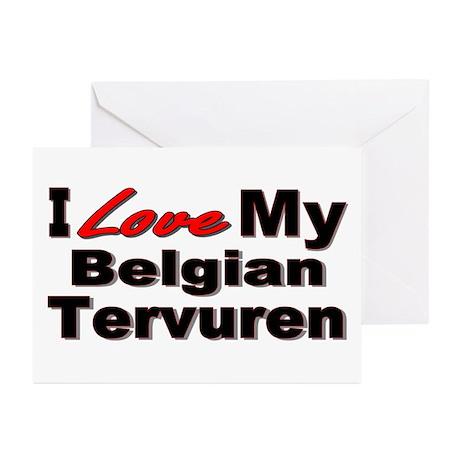 Belgian Tervuren Greeting Cards (Pk of 10)