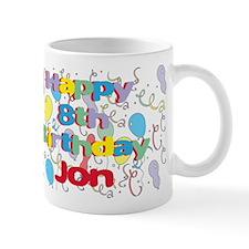 Jon's 8th Birthday Mug